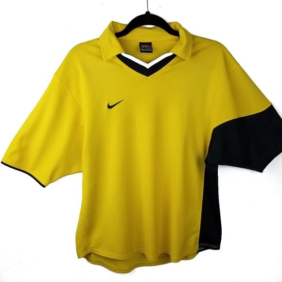 Nike Other - Vintage Nike Collar V Neck Rugby Golf Polo Men L